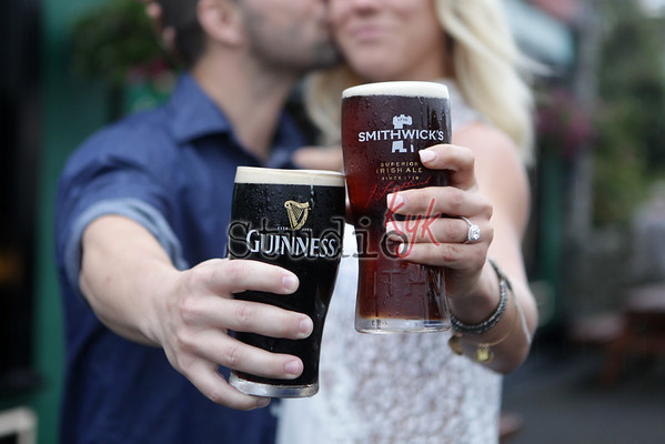 engagement shoot in Ireland