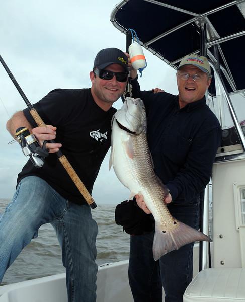 Dan Kibler and Adam Paul GillzNfinz Redfish 10 2009.jpg