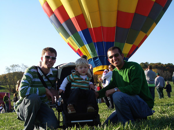October 2006 - Hot Air Balloon & Wine Festival