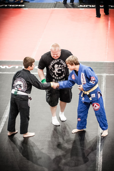 Dustin's Jiu Jitsu Competition - 2013