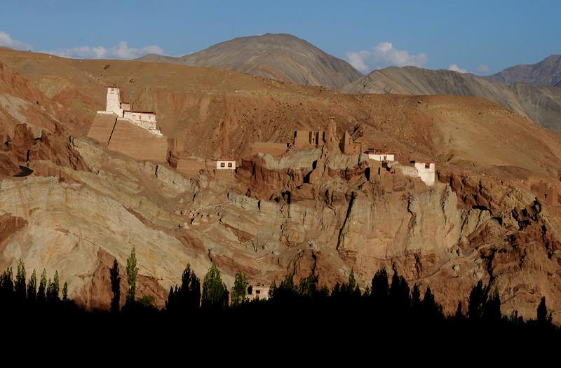 Basgo Monastery in Ladakh.