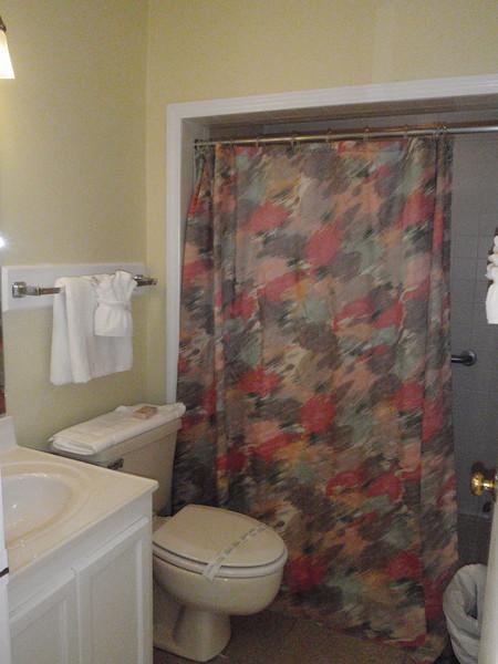 Huge walk-in shower in the Master Suite.