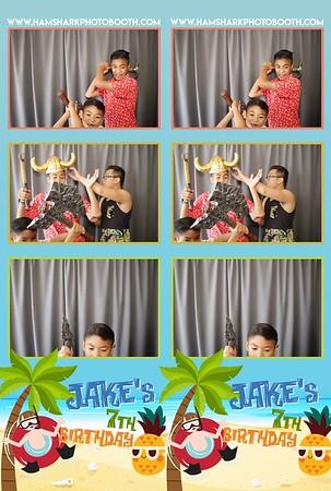 Jake's 7th Birthday