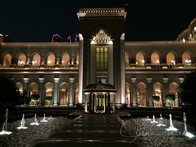 Abu Dhabi; Hotel Emirates Palace; UAE;