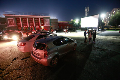 Galaxy car cinema