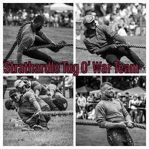 Strathardle Tug O War Team