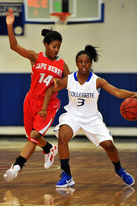 02/17/2012 - Cape Henry Collegiate @ Norfolk Collegiate School / Varsity Girls Basketball