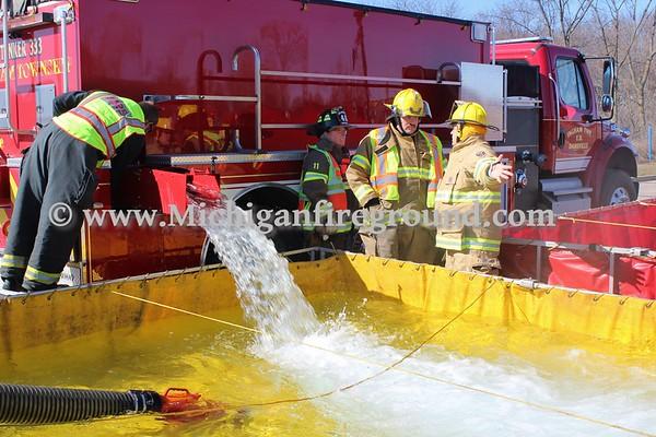3/3/18 - Ingham Co Tanker Task Force training exercise