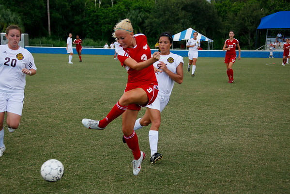 Florida Southern Women's Soccer vs Armstrong Atlantic State GA September 5, 2010  2pm.  HDTV Video Clips are included in this Gallery
