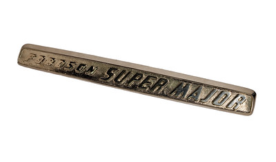 FORDSON SUPER MAJOR BONNET BADGE BAR (STEEL)
