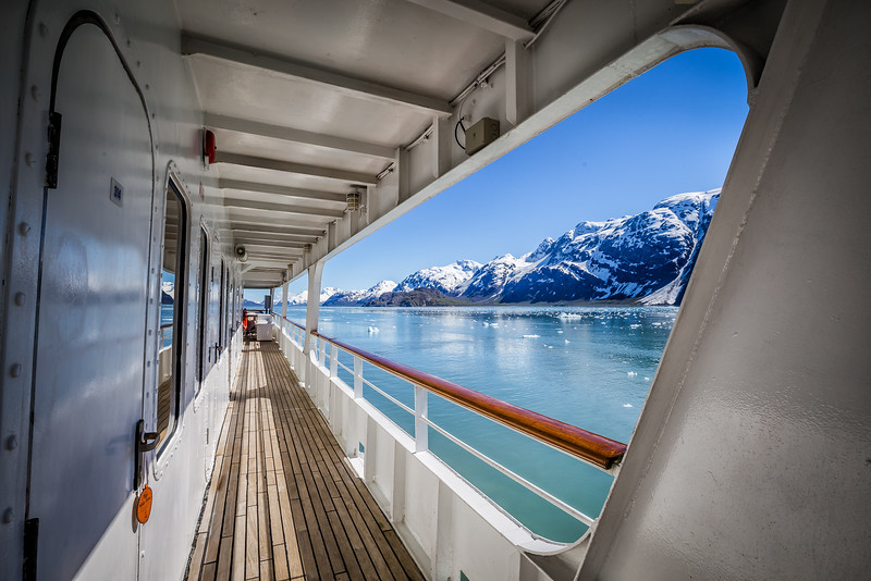 Glacier Bay National Park in Alaska from UnCruise ship