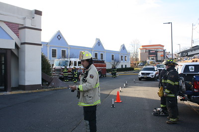 Firefighters Train on Vacant Hotel