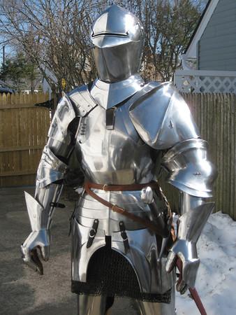 15th c. armour and Conquistador for DPA