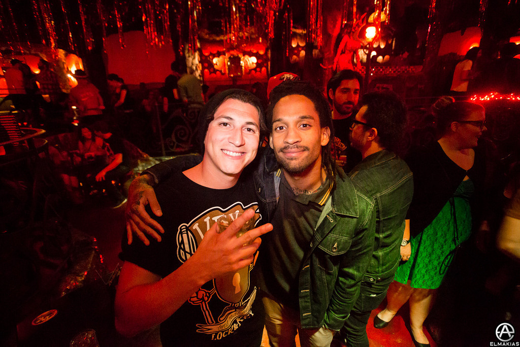 Jaime Preciado of Pierce The Veil and Stephen Harrison of The Chariot