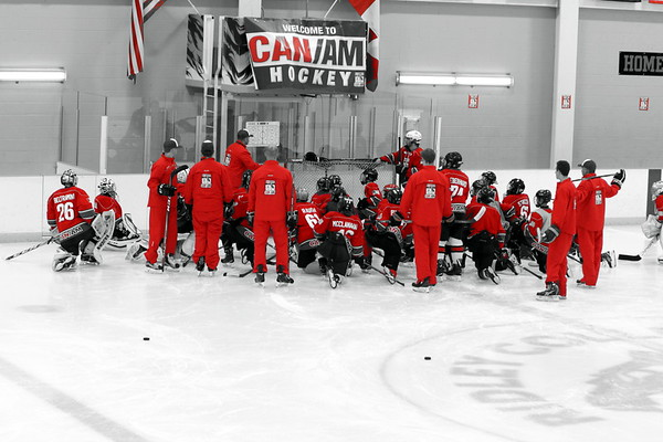 July August 2018 2 CanAm hockey camp Ridley College Ontario pics