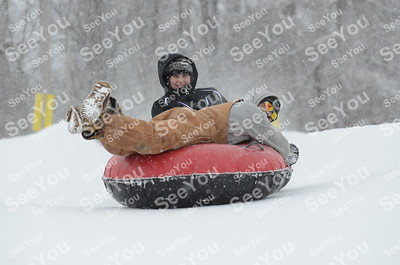 Snow Tubing 3-2-13 1am-1pm Session