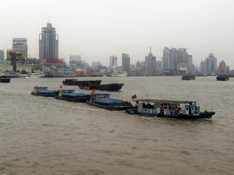 Huangpu River from the Bund, Shanghai