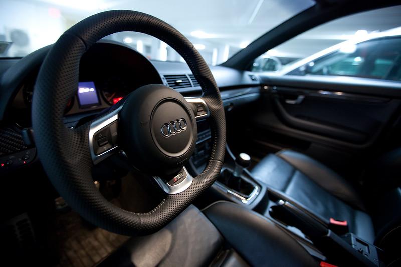 RS4 - TT-RS Steering Wheel