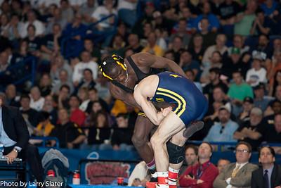 141 Champion Kellen Russell (Michigan) 2012 NCAA Wrestling Championships
