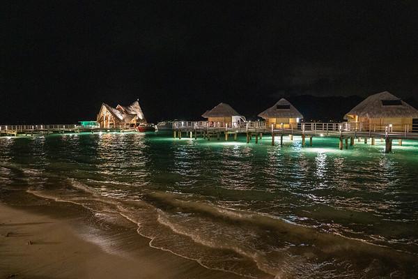 Le Bora Bora by Pearl Resorts at night - June, 2021