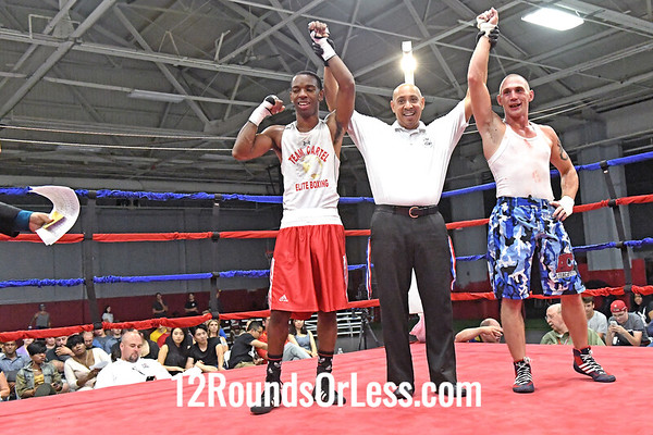 Bout 9 Robert Munford, Red Gloves, Team Cartel -vs- Roger Blankenship, Blue Gloves, Wrestling Factory, OPEN, 141 Lbs.