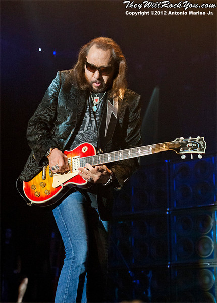 Ace Frehley <br> July 11, 2012 <br> Best Buy Theater - NYC, NY <br> Photos by: Antonio Marino Jr.