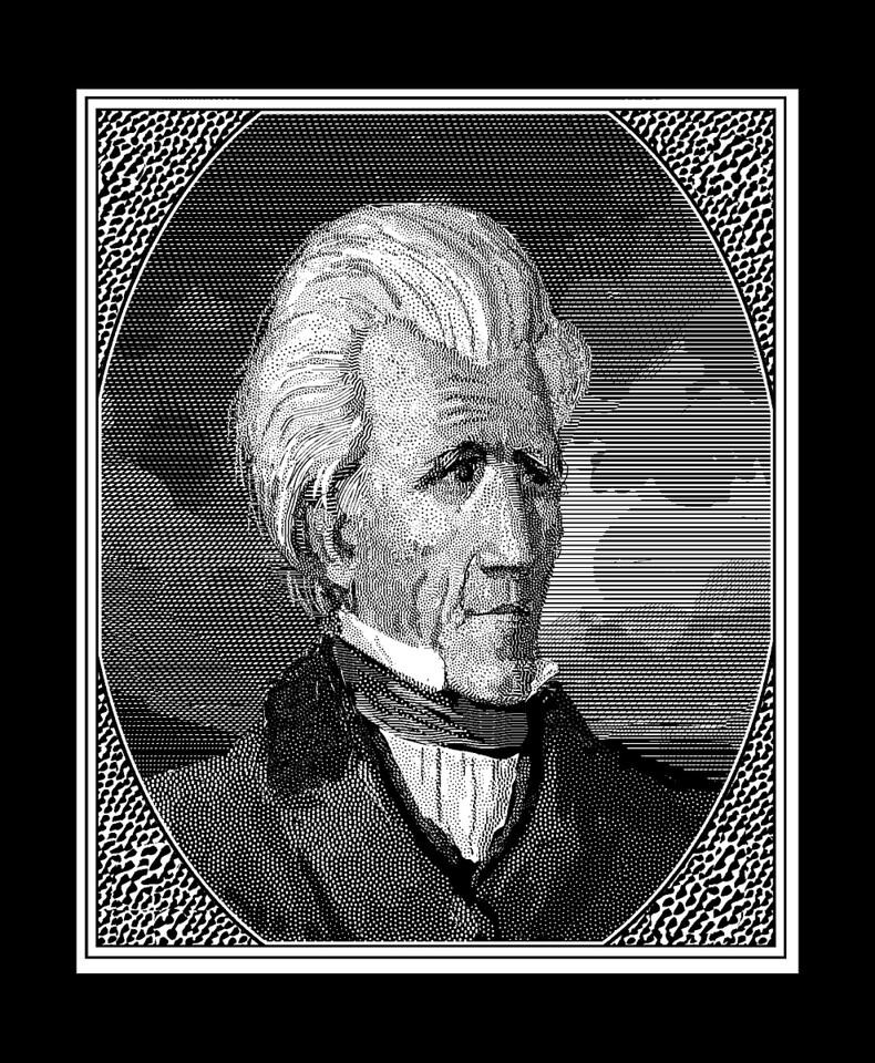 Andrew Jackson, aka Old Hickory