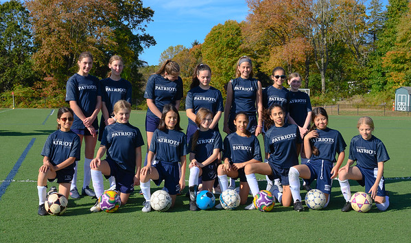 Girls Soccer Team Picture