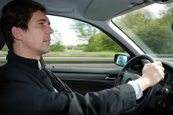 Praag 2008, dag 1: onderweg naar Bad Elster