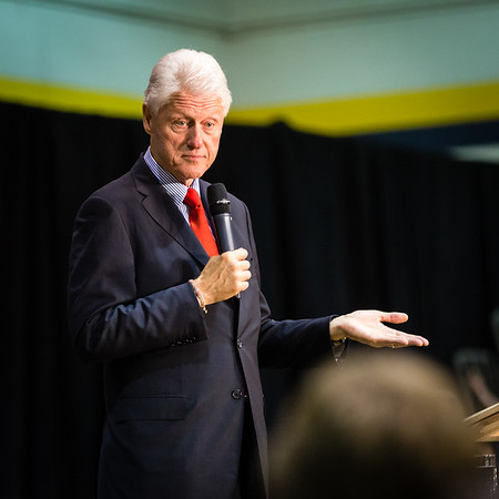 President Bill Clinton @ TCNJ