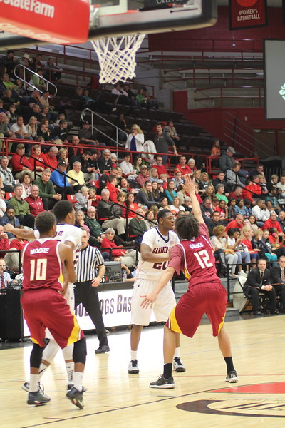 GWU men's basketball beats Winthrop 65-64 in the last few seconds of the game, Saturday January 10th.