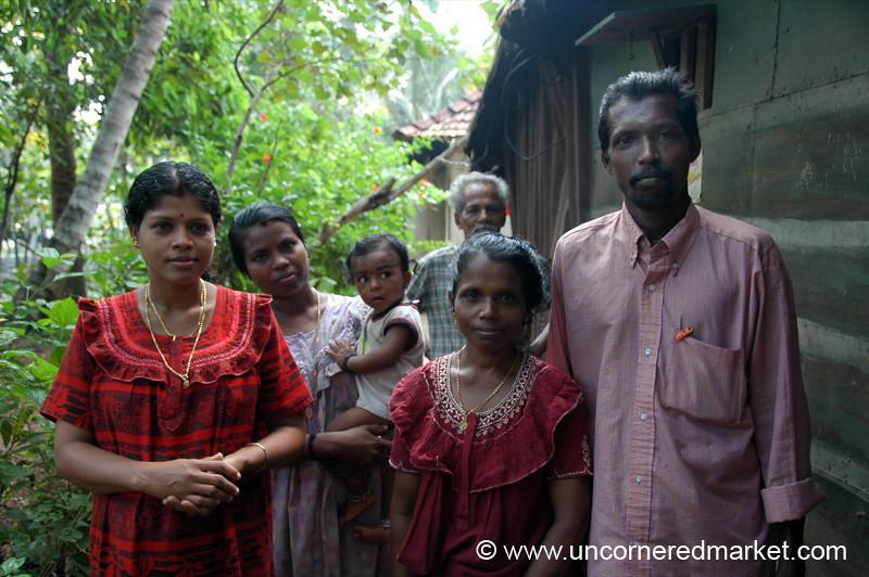 Backwater Family: Kerala