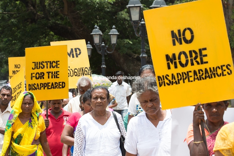 Disappearance Day, Colombo 2016