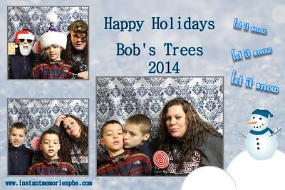 Bob's Trees December 6th & 7th 2014