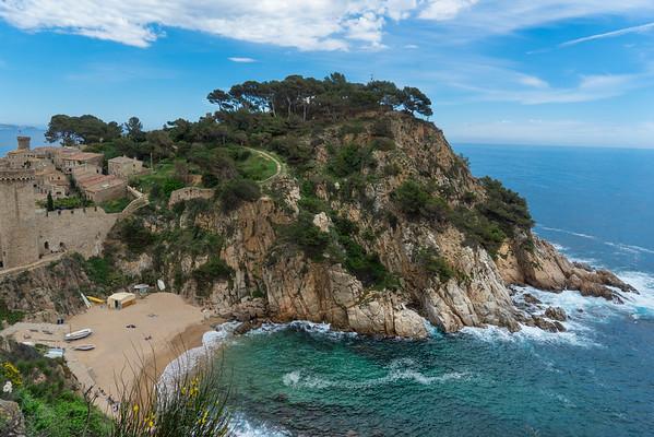 Hike Lloret de Mar to Tossa de Mar