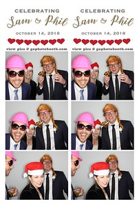 Sam & Phil's Wedding Photo Booth 10/14/18