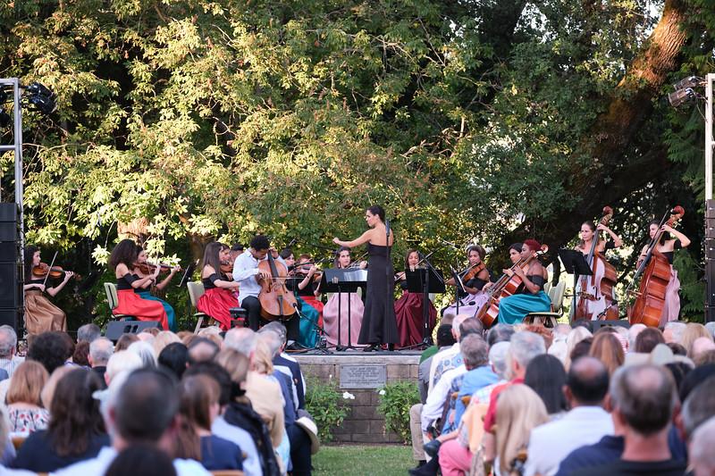 Concert at Charles Krug