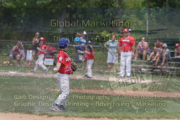 8U Championship: Lou Gehrig Blue v. Lou Gehrig Red
