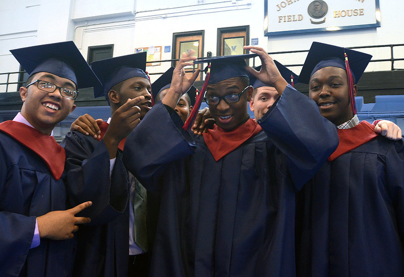. Cardinal O\'Hara High School held its 2014 commencement exercises on Wednesday, June 4 at Villanova University. (Times staff / JULIA WILKINSON)