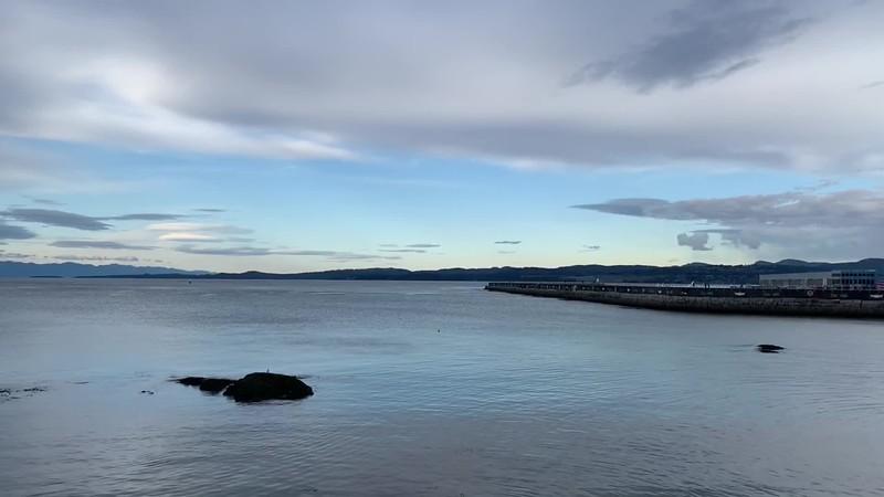 Victoria Breakwater Sunday Evening Reflection