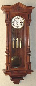 VR-559 3 Weight Altdeutsche Vienna Regulator marked St. Kallenberger