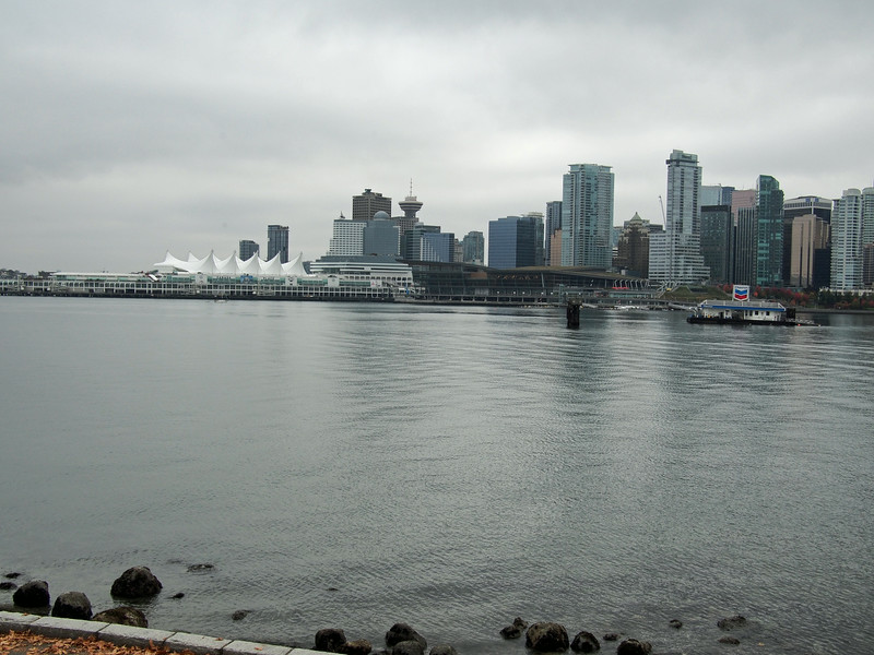 Oct. 20/13 - Biking around the Vancouver Seawall