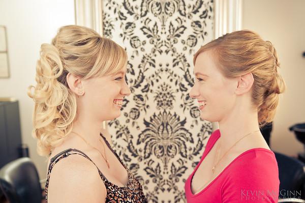 Rachel and Clare