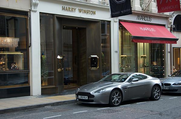 London - Savile Row & Old Bond Street