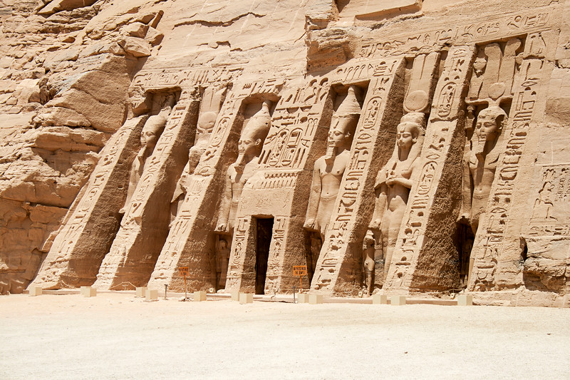 The Temple of Hathor and Nefertari, Abu Simbel, Egypt