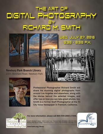 Presentation of my work at Newbury Park Library