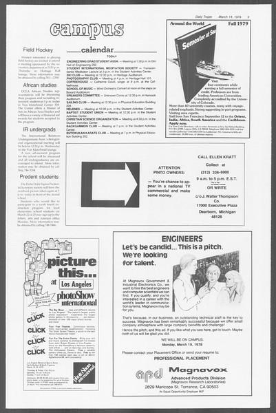 Daily Trojan, Vol. 76, No. 23, March 14, 1979