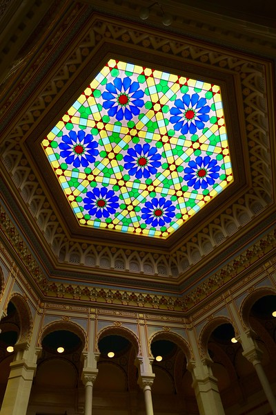 detail in the Sarajevo City Hall