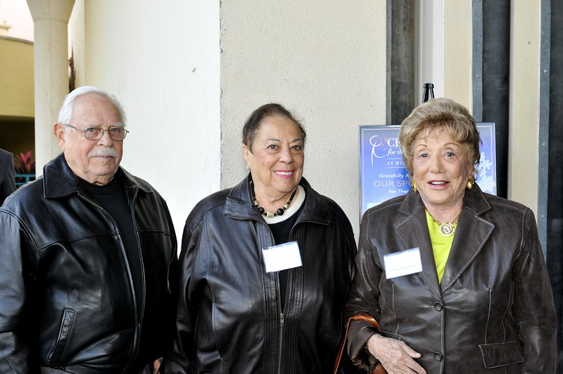 Mortimer Patchen, Maxine Patchen and Sylvia Greenberg