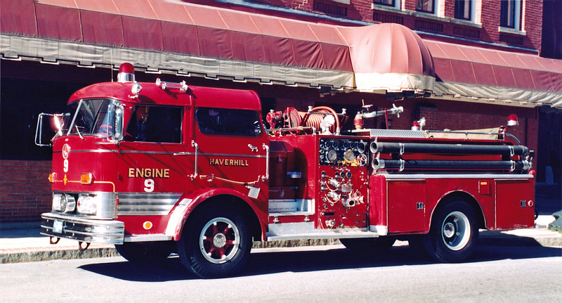 Retired Engine 9.  1968 Mack C-95.  1000 / 300